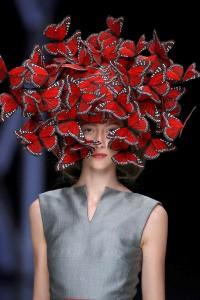 Figure 7- Anetha Simms, 2008, Butterfly Headdress, https://teacupmoment.wordpress.com/2015/04/19/savage-beauty/